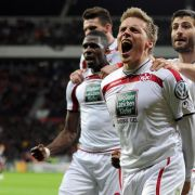 Lauterns Cup-Helden feiern (Foto)