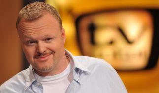 Stefan Raab hört 2015 im TV auf. (Foto)