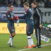 Guardiolas Vertrauen: Schweinsteiger gleich wieder Chef (Foto)