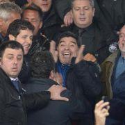 Maradona wehrt sich gegenSteuerbetrugsvorwürfe (Foto)
