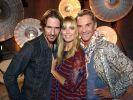 Die Jury beii «Germany's next Topmodel» 2014 (von links): Thomas Hayo, Heidi Klum und Wolfgang Joop. (Foto)