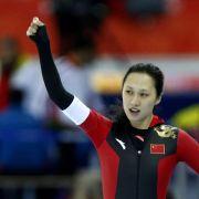 Hong verblüfft Eislauf-Welt: Erstes Gold für China (Foto)