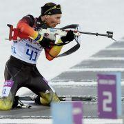 Lesser erlöst DSV-Biathleten: Silber hinter Fourcade (Foto)