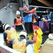 Rodel-Republik Deutschland! Viertes Olympia-Gold im Team (Foto)