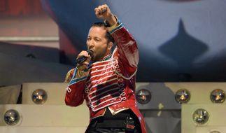 Bis Mai 2014 plant DJ BoBo mit seiner «Circus»-Tour rund 25 Konzerte in Deutschland und der Schweiz. (Foto)