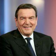Altkanzler Schröder präsentiert «Klare Worte» zum 70. (Foto)