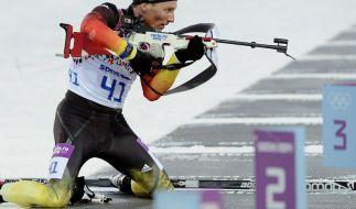 So sehen Sie die deutschen Biathlon-Wettbewerbe live in TV, Stream und Ticker. (Foto)