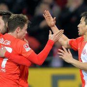 Mainz nach 2:0 gegen Hannover auf Europa-League-Kurs (Foto)