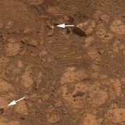 Rätsel um «Donut»-Stein vor Marsrover «Opportunity» gelöst (Foto)