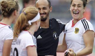 Hockey-Damen starten mit Sieg in die WM-Vorbereitung (Foto)