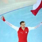 Tausendstel:Pole Brodka holt Eisschnelllauf-Gold (Foto)