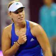 Kerber bei WTA-Turnier in Doha im Endspiel (Foto)