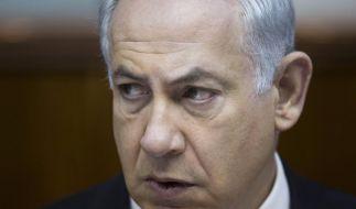 Netanjahu vor neuen Atomgesprächen mit Iran skeptisch (Foto)