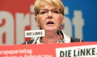 Linke legt Streit über Kandidatenliste für Europawahl bei (Foto)