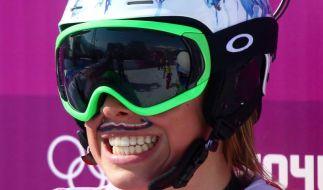 Samkova Olympiasiegerin im Snowboardcross (Foto)