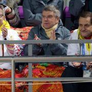 IOC-Präsident Bach: Fortschritte im Kampf gegen Doping (Foto)