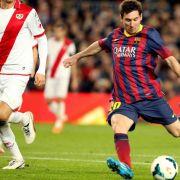 Messi auf Rang drei der ewigen spanischen Torjägerliste (Foto)