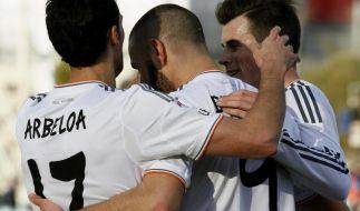 Real behauptet mit 3:0-Sieg Platz in Spitzengruppe (Foto)