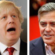 George Clooney gerät mit Londons Bürgermeister aneinander (Foto)