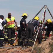 Illegale Arbeiter in südafrikanischer Mine eingeschlossen (Foto)