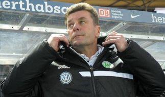 VfL-Trainer Hecking: «Mehr zu kritisieren als zu loben» (Foto)