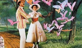 Liebevoll inszeniert und oscarprämiert: Mary Poppins aus dem Hause Walt Disney verzaubert gestern wie heute. (Foto)