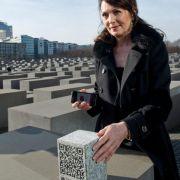 Iris Berben startet «interaktives Konzert» am Holocaust-Mahnmal (Foto)