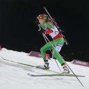 Domratschewa gewinnt Gold imMassenstartrennen (Foto)