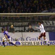 Kaiserslautern mit Rückschlag:0:1-Niederlage in Aue (Foto)