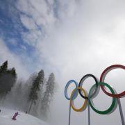 Erneut schwierige Witterungsbedingungen bei Olympia (Foto)