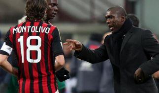 Milan droht der Absturz - Bewährungsprobe für Seedorf (Foto)