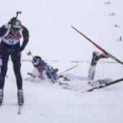 Endlich Gold: Svendsen schlägt Fourcade (Foto)