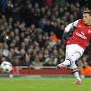 Vor Bayern-Duell: Özil hofft auf Arsenals «Superhelden» (Foto)