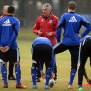 HSV-Trainer Slomka: Training länger und intensiver (Foto)