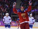 Russen wenden Debakel ab - Slowenien mit Olympia-Coup (Foto)