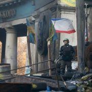 Tote bei Straßenschlachten in Kiew (Foto)