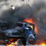 Mindestens 25 Tote in Kiew (Foto)