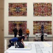 Wandteppiche und Bücher - Gerhard Richters Auflagenkunst (Foto)