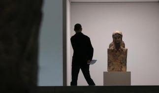 Skulpturen von Hans Josephsohn in Hamburg (Foto)