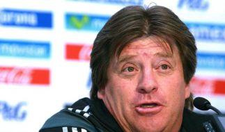 Mexiko-Coach vor WM selbstbewusst:«Denke ans Endspiel» (Foto)