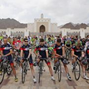 Schweigeminute für Belgier Goddaert bei Oman-Rundfahrt (Foto)