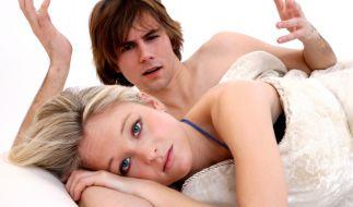Probleme im Bett können eine Partnerschaft schwer belasten. (Foto)