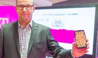 Deutsche Telekom treibt Tempo im Mobilfunknetz nach oben (Foto)