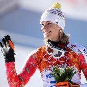 Höfl-Riesch und das «allerletzte Olympia-Rennen» (Foto)