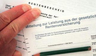 Regierung: Jeder Vierte könnte Rente mit 63 nutzen (Foto)