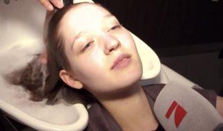 Auf Facebook verkündet das «GNTM»-Team: «Es brodelt in der Gerüchteküche, eins der Mädchen bekommt sogar eine Glatze!» (Foto)