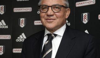 Magath in Fulham vorgestellt: «Noch nie abgestiegen» (Foto)