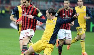 Unglückliches Milan am Boden (Foto)