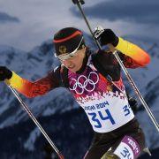 Biathlon-Staffel in Sotschi live bei ARD  ZDF sehen (Foto)