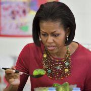 Michelle Obama:Sport und Grünkohl-Chips sind gesund (Foto)
